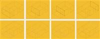 eight variations for galerie heiner friedrich by fred sandback