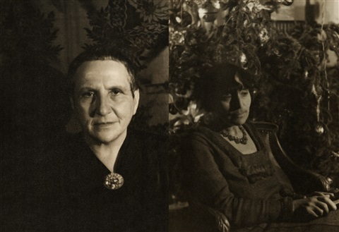 two photo pair gertrude stein alice b toklas by carl van vechten