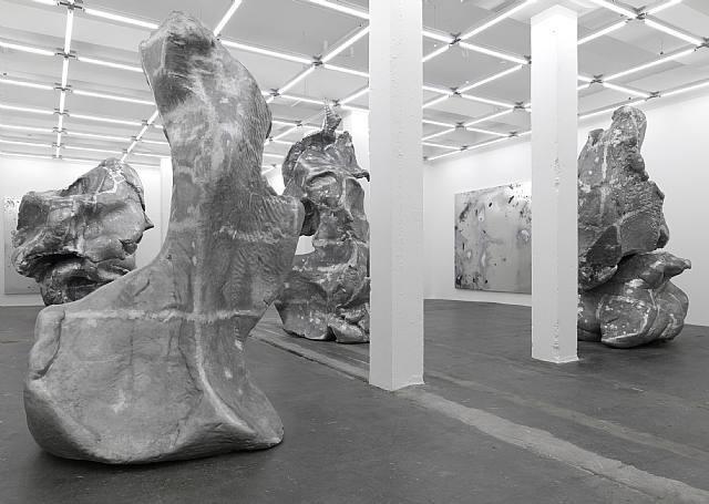exhibition view galerie eva presenhuber by urs fischer