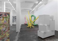 exhibition view galerie eva presenhuber by franz west