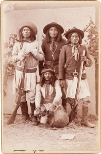 apache scouts by andrew miller