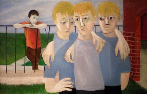 alienation by ben shahn