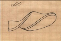 study for a carving (d88) by naum gabo