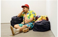 traveller (chelsea location) by duane hanson