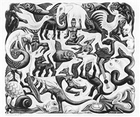 mosaic by m. c. escher
