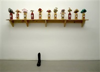 alcohol shelf (archive version) by william pope.l