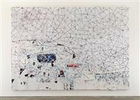 white painting by mark bradford