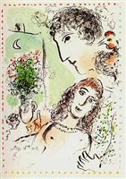 tenderness by marc chagall