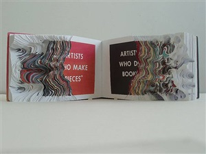 "cutting book series with ed ruscha: ""artists who make pieces, artists who do books"" by noriko ambe"
