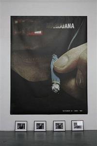 life marijuana by dan colen