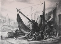 shipyard by charles wheeler locke