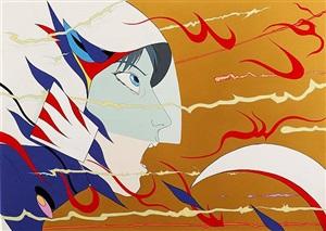 beaming through by yoshitaka amano