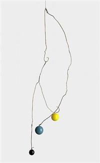 untitled g (yellow, blue, black) by kate shepherd