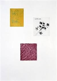 portfolio mit 17 radierungen by thomas schütte