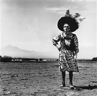carnaval, tlaxcala, mexico by graciela iturbide