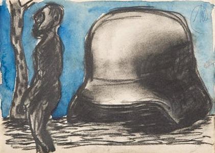 markus lüpertz malerei - zeichnung - graphik by markus lüpertz