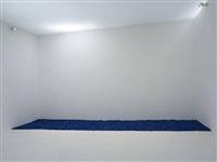 gonzalez-torres untitled (blue placebo) by sturtevant