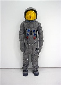 apollo space suit (after beuys) by matthew day jackson