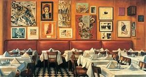 paris bar berlin by martin kippenberger