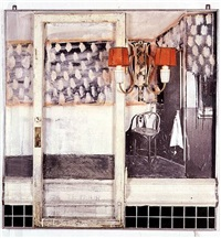 drawing for the hoerengracht no. 10 by edward and nancy kienholz