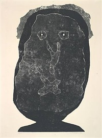 l'enfle-chique iv by jean dubuffet
