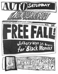 stock market: up and down free fall! (16th/17th november 1991) by aleksandra mir