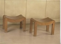 tabourets / stools by pierre chareau