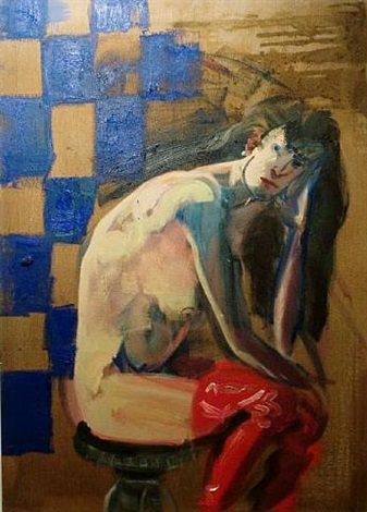 anne-claude by rainer fetting