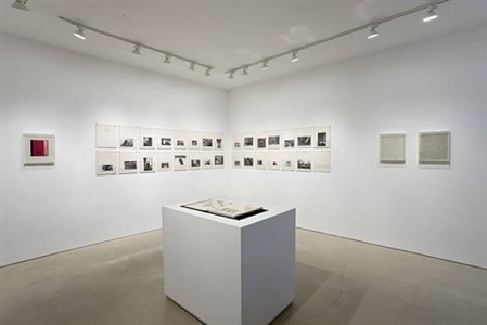 the address book - installation view