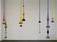 variation on color seed space time love by ernesto neto