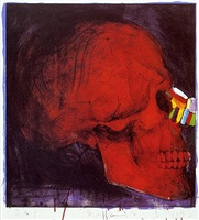 grease, bone and color by jim dine