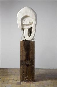 abstract head ii by thomas houseago