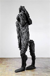 untitled (lumpy man or milan bronze) by thomas houseago
