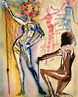 ballet of the flowers by salvador dalí