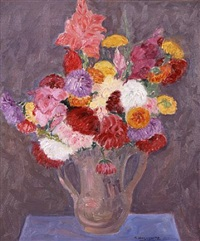 still life of flowers by abraham walkowitz