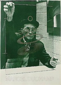 the oculist witnesses poster by marcel duchamp