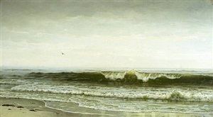 beach scene by william trost richards