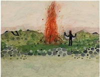 bonfire (sold) by scott daniel ellison