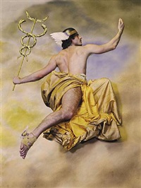 <!--50-->mercury (after tiepolo) by philip haas