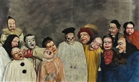 <!--56-->the great judge (after ensor) by philip haas