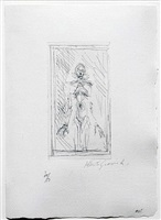 small standing nude by alberto giacometti