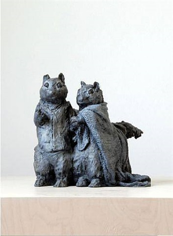 rag and bone squirrels by laura ford