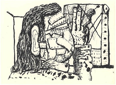 philip guston work on paper by philip guston