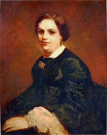 portrait of mademoiselle maillau by adolphe joseph thomas monticelli