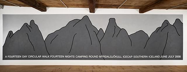 mountain skyline, iceland by hamish fulton