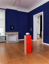 "installation photograph, ""1995"", at gladstone gallery, brussels, 2010 by andro wekua"