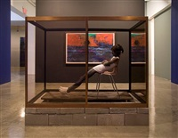 installation photograph, gladstone gallery / new york, 2008 by andro wekua