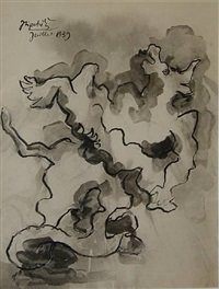 study for the minotaur by jacques lipchitz