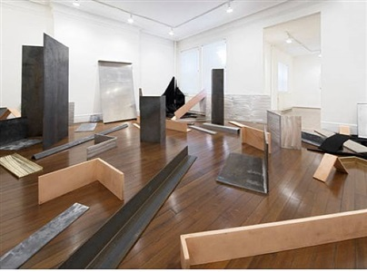 robert morris untitled scatter piece, 1968-69 by robert morris