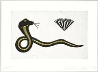 diamond snake by donald baechler